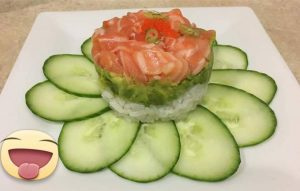 salmon-tar-tar